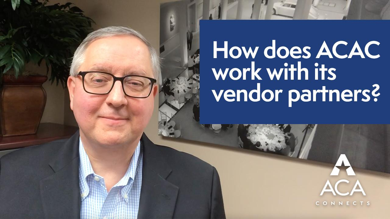How does ACAC work with its vendor partners
