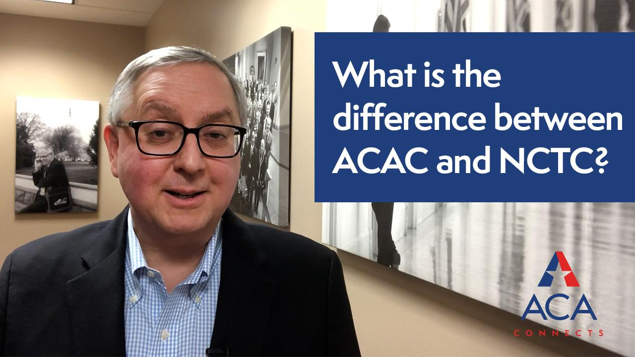What is the difference between ACAC and NCTC