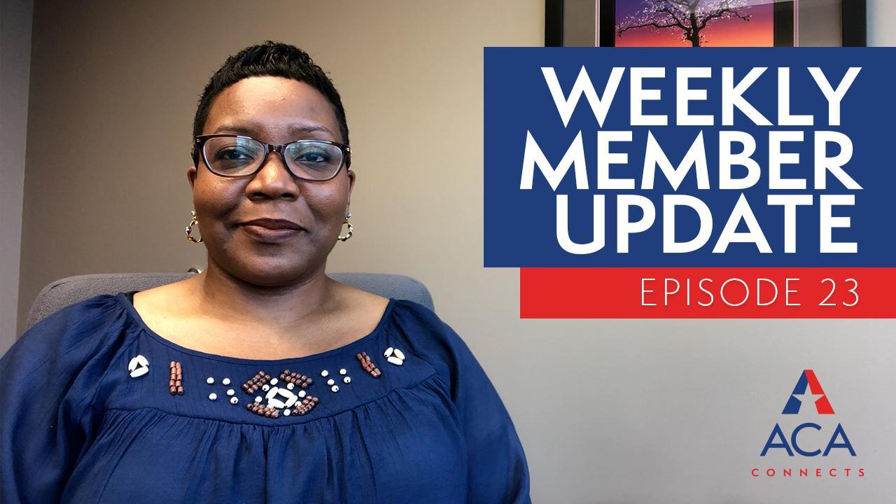 weekly member update ep23