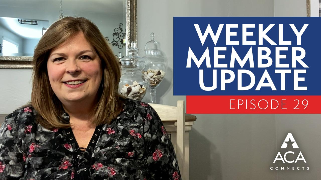 weekly member update – ep29
