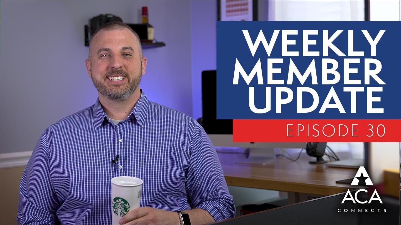 weekly member update ep30