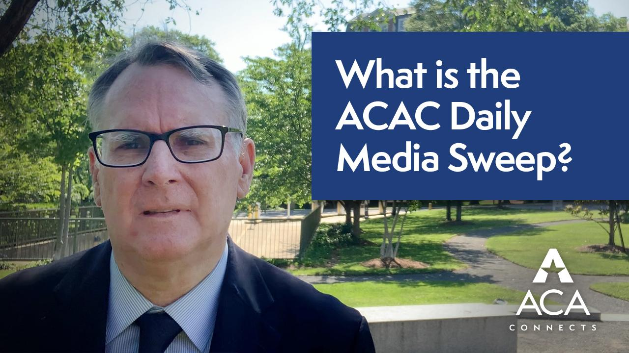 What is the ACAC Media Sweep