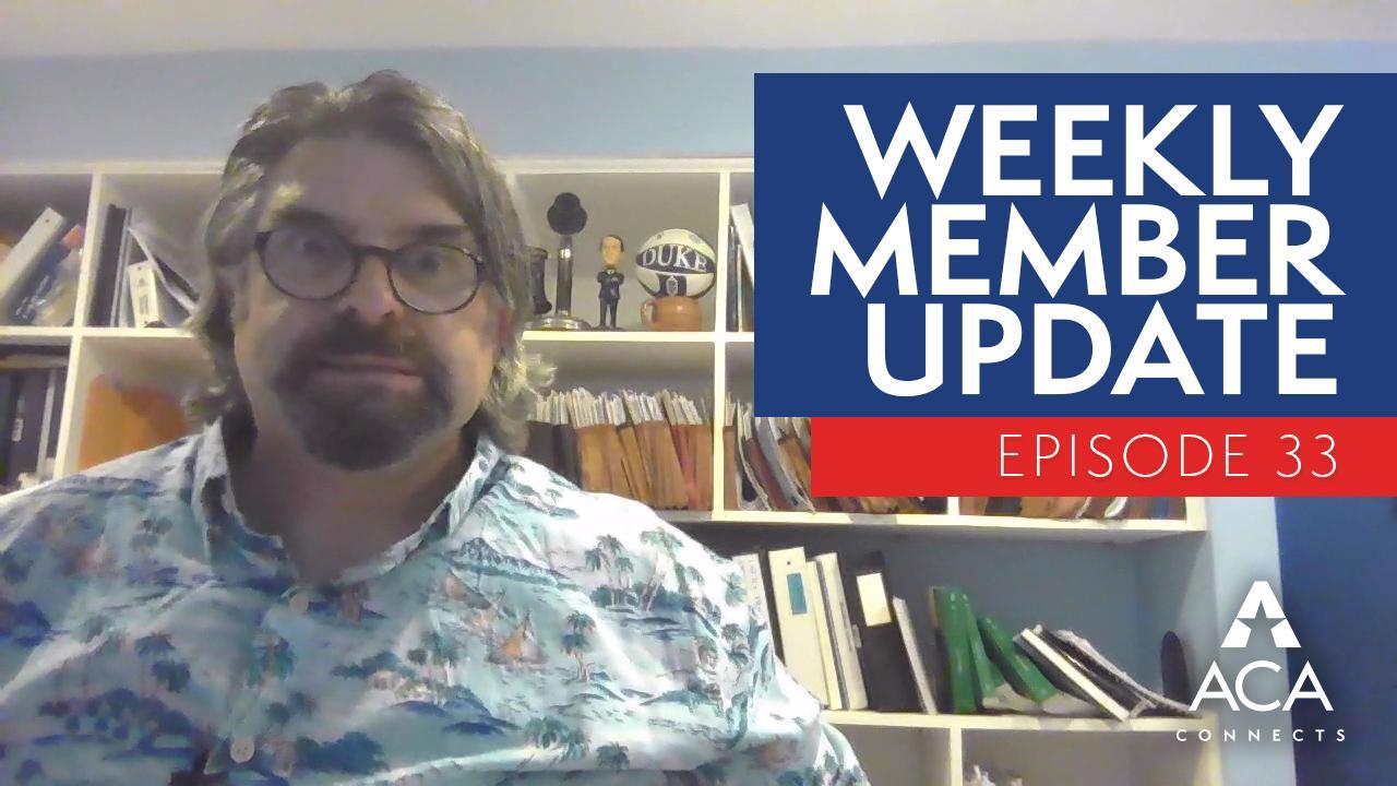 weekly member update – ep33