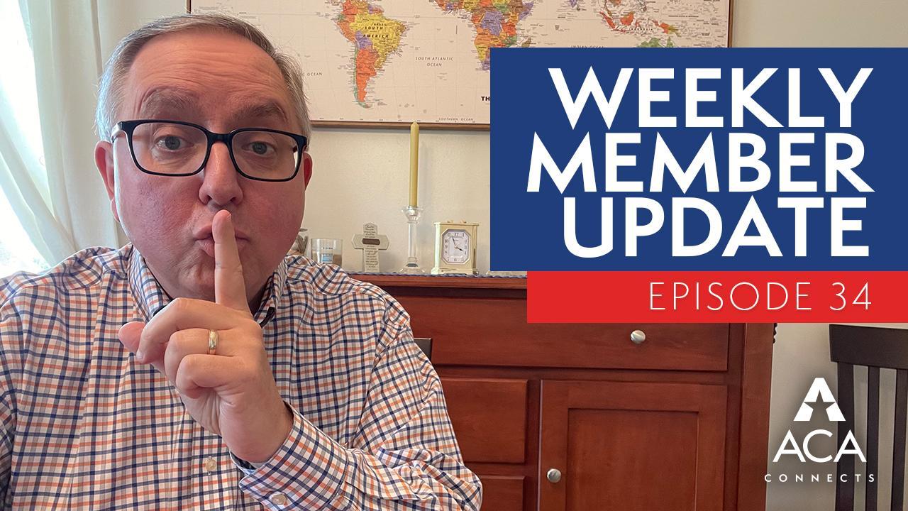weekly member update – ep34