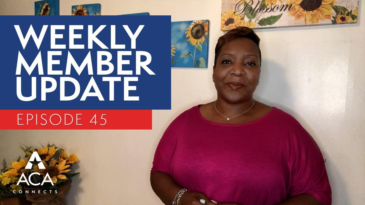 weekly member update – ep45